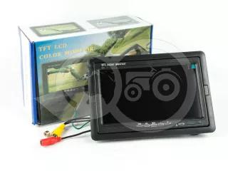 Force 915 tolatókamera monitor, 7